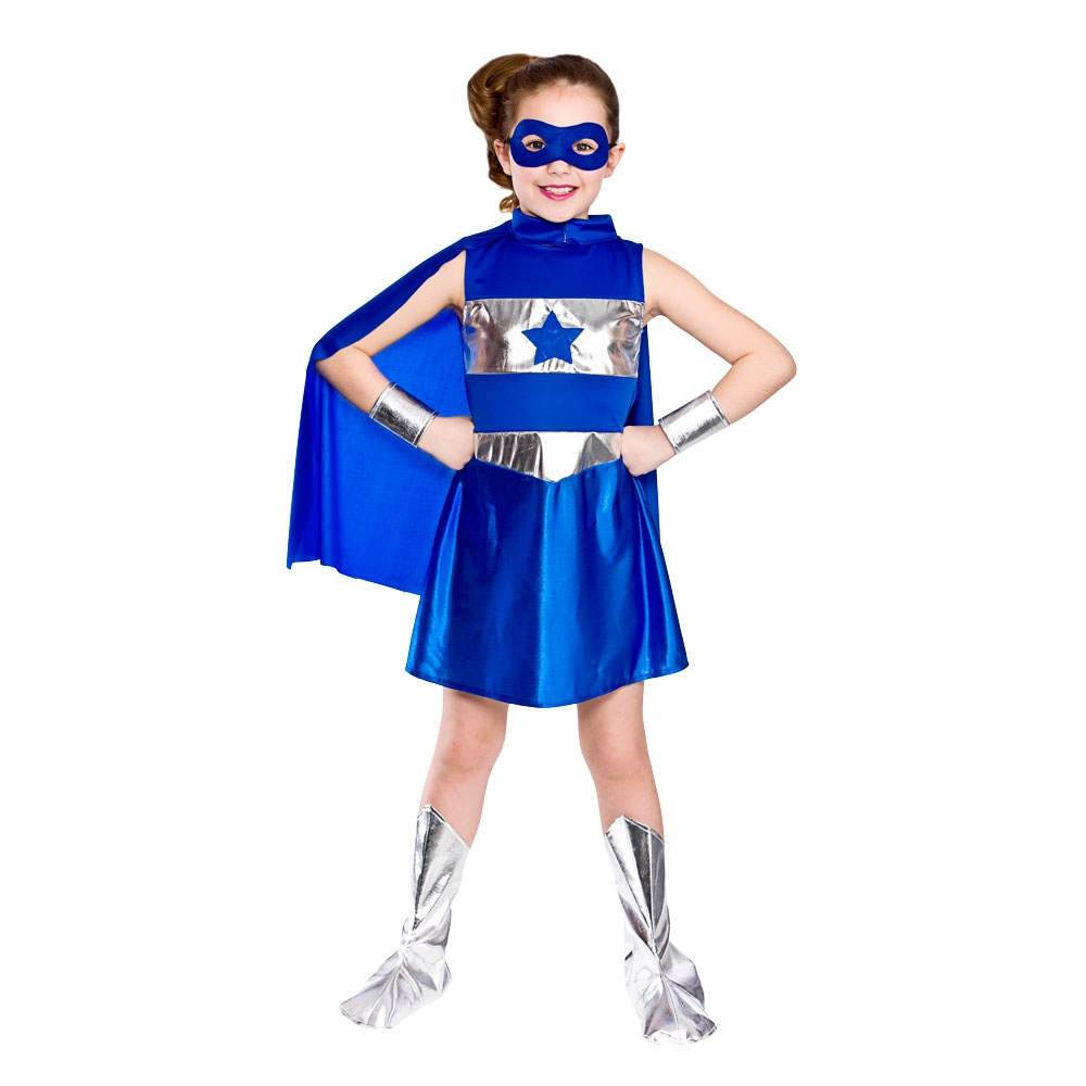 Shop Party City for classic girls superhero costumes, including TV, movie, and comic book character costumes.