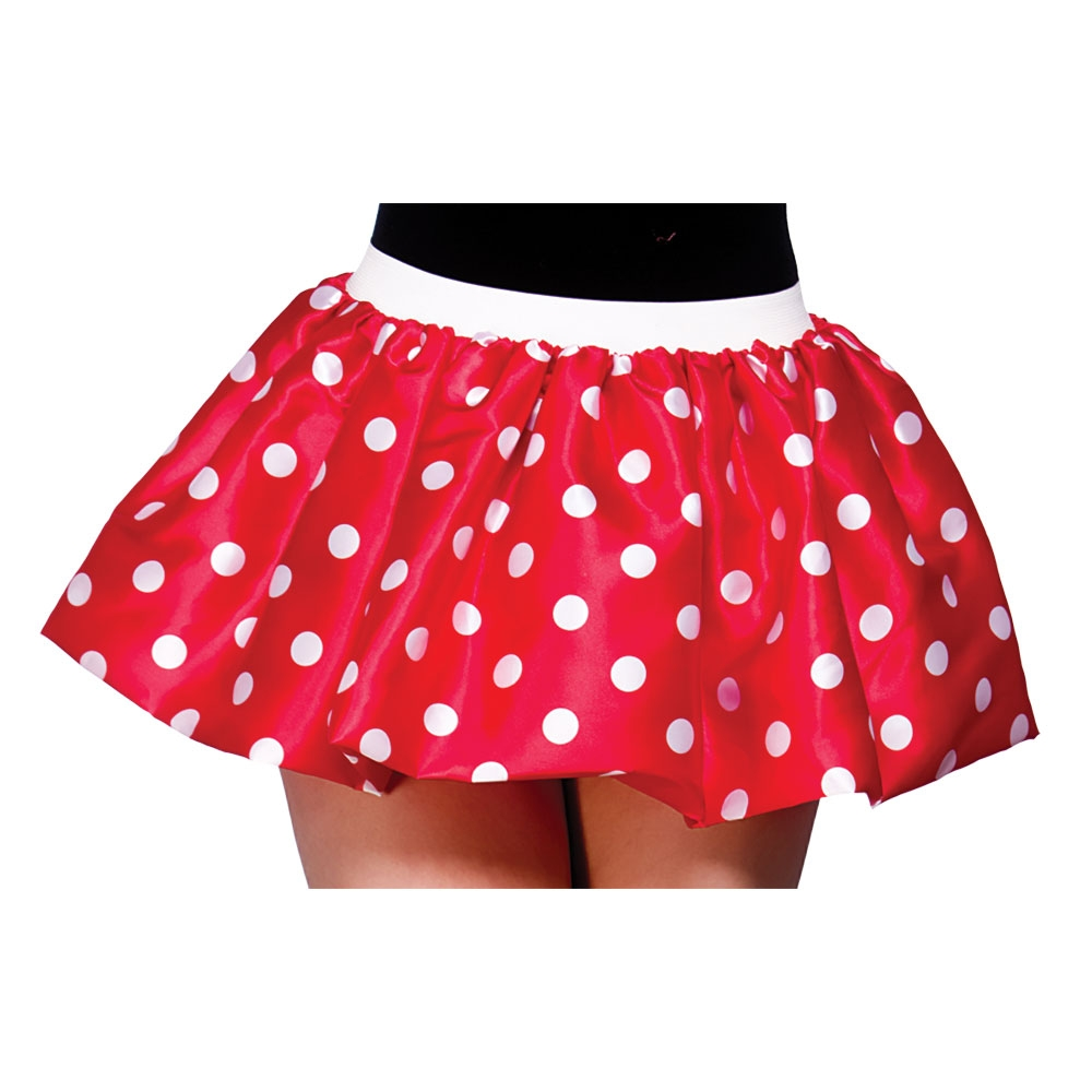 cute minnie mouse damen kost m zubeh r rot tutu unterrock ebay. Black Bedroom Furniture Sets. Home Design Ideas