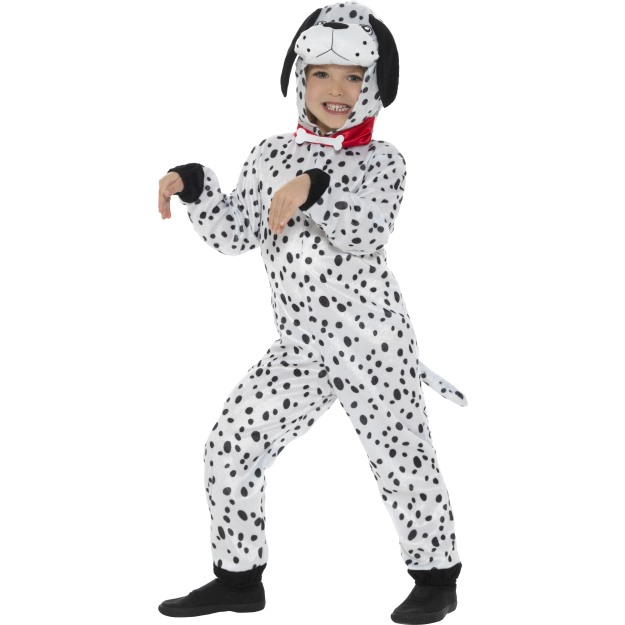 Dalmation-Dog-Puppy-Kids-Jumpsuit-1001-Dalmations-Fancy-  sc 1 st  eBay & Dalmation Dog Puppy Kids Jumpsuit 1001 Dalmations Fancy Dress Outfit ...