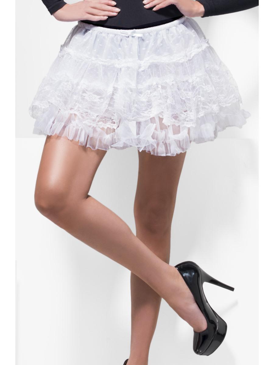 Fever Lace Petticoat Boutique Fancy Dress Accessory Tutu Underskirt