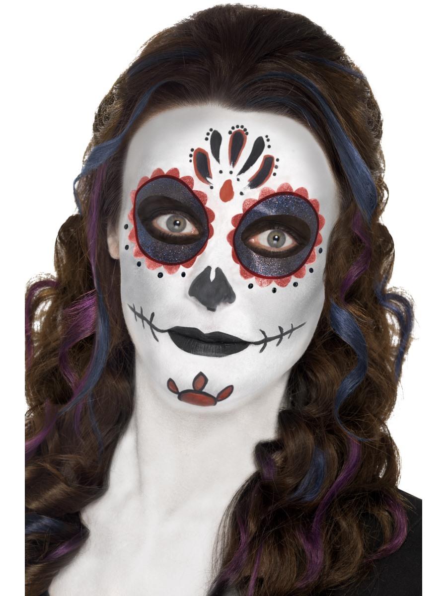 Adult Evil Full Face Jester Masquerade Mask Halloween Fancy Dress AccessoryEM432