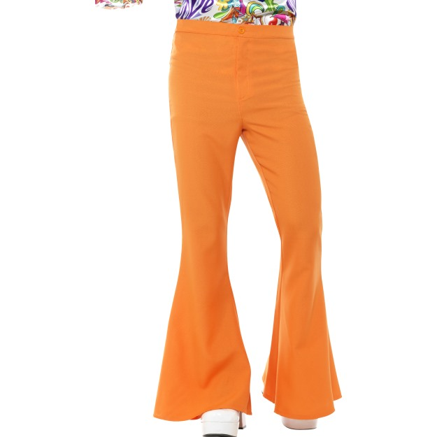 60s-70s-Flared-Trousers-Mens-Disco-Groovy-Fancy-Dress-Costume-Accessory