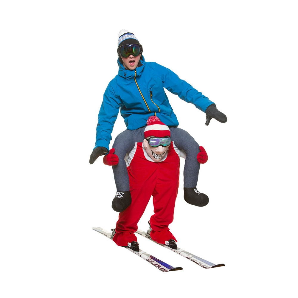 Carry Meu00ae Skier Winter Sports Comedy Costume Adults Funny Fancy Dress | eBay