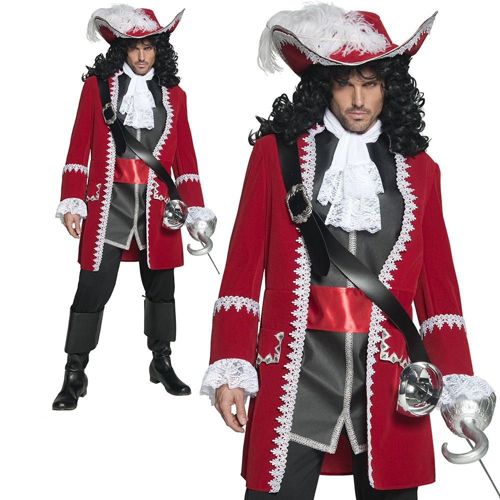 Deluxe Pirate Eyepatch Mens Ladies Pirates Fancy Dress Accessory