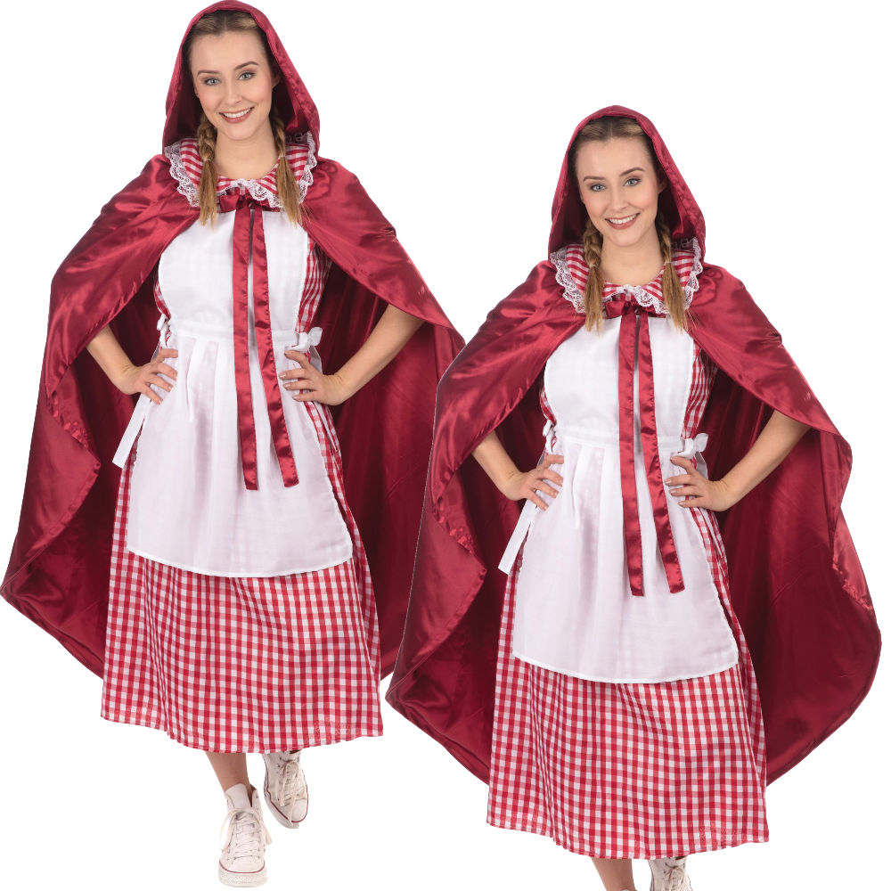 Ladies Classic Dorothy Book Day Fancy Dress Costume Outfit UK 8-22 Plus Size