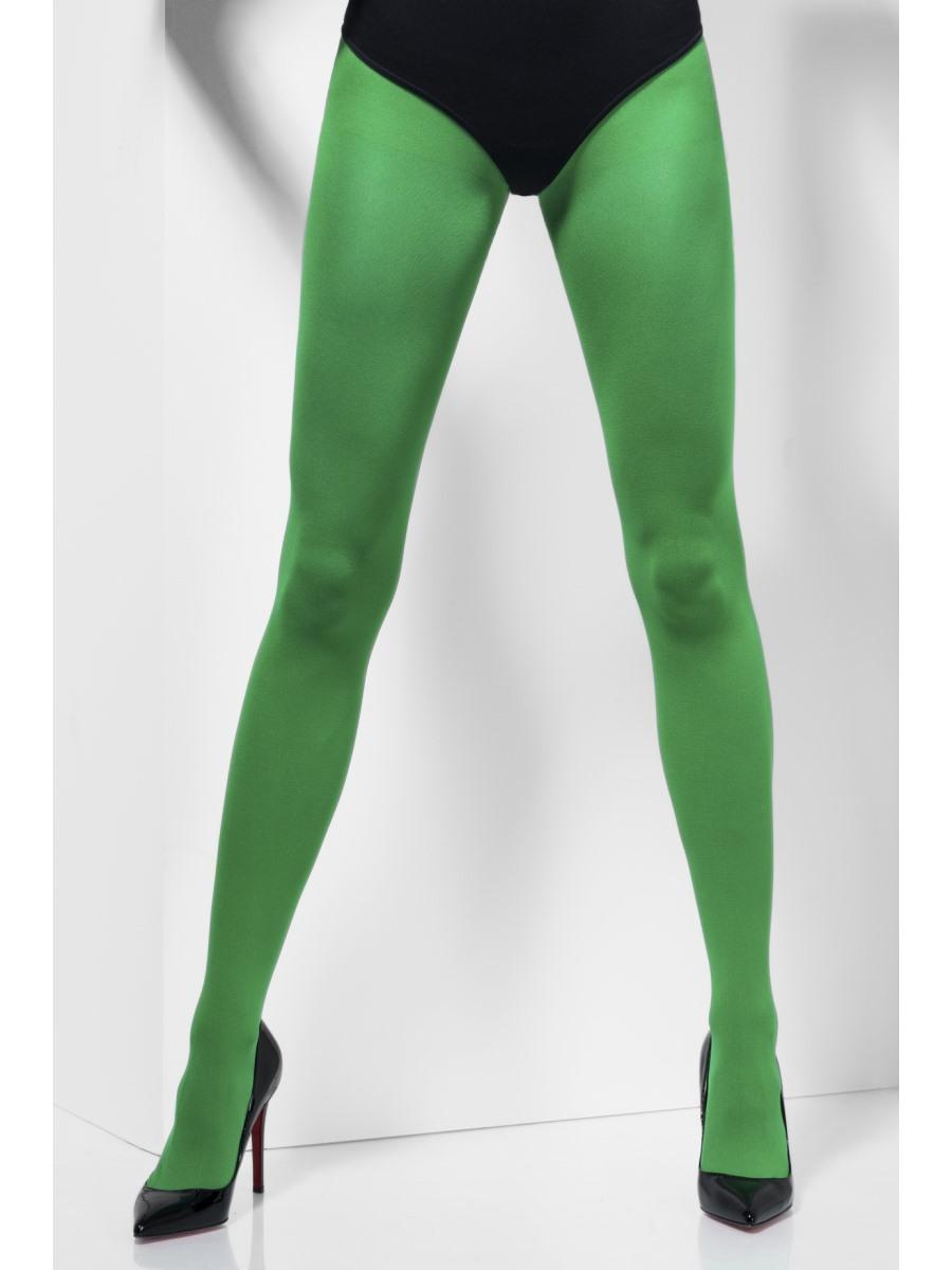 Dress Fancy Elf Accessory Fashion Adult Green Ladies Costume Tights