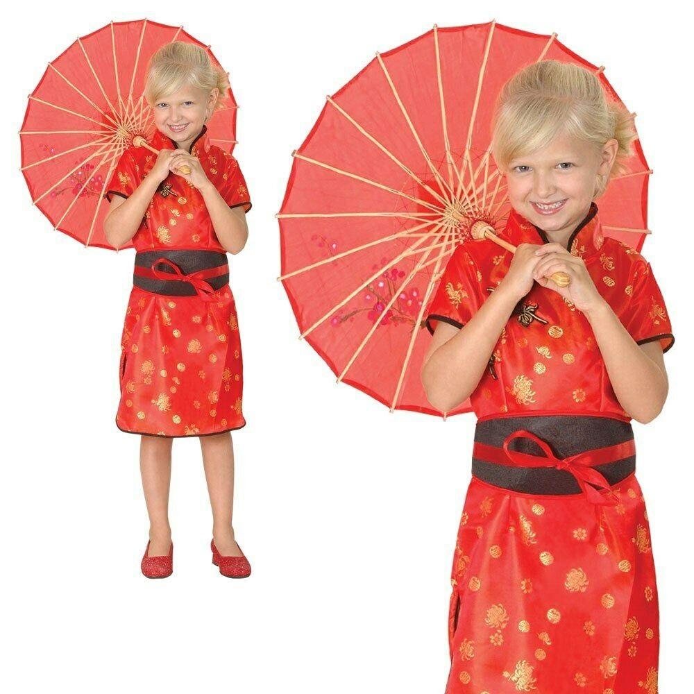 New Geisha Girl  122-134cm Girls Childrens Costume