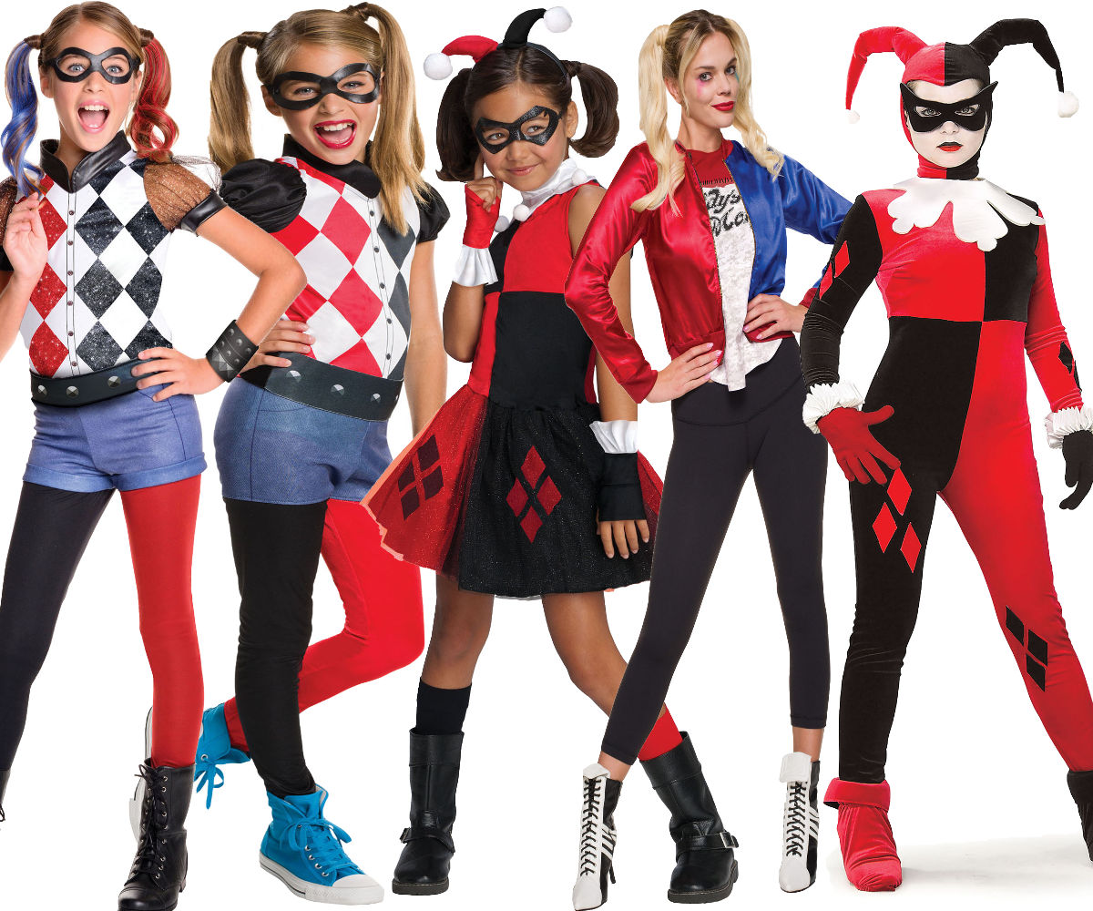 Official Suicide Squad HARLEY QUINN Fancy Dress Costume Ladies Girls Halloween
