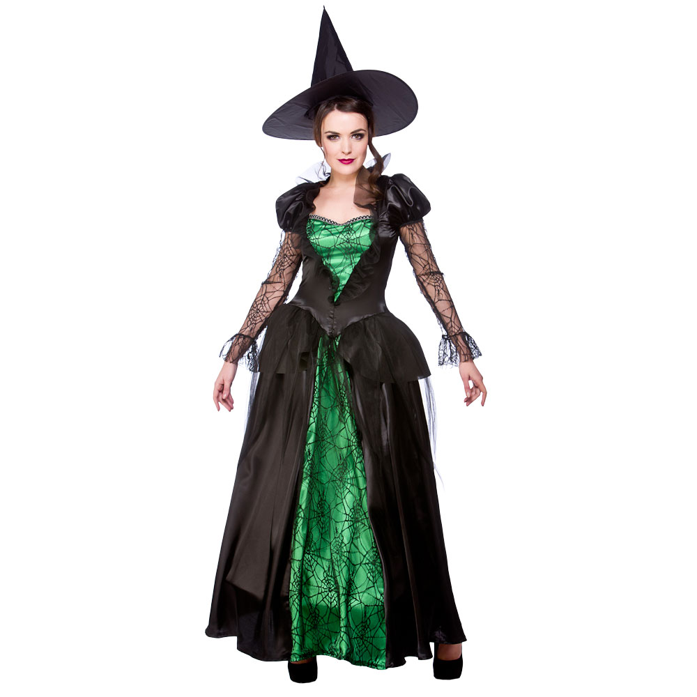Galerry green witch costume