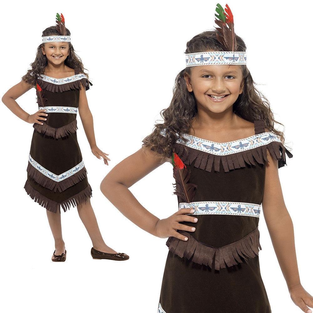 KIDS COWGIRL CUTIE WILD WEST WESTERN FANCY DRESS BOOK WEEK SIZE 4-12 YEARS