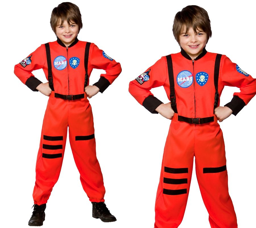 astronaut anzug outfit astronaut jungen kost m 3 jahre 13 ebay. Black Bedroom Furniture Sets. Home Design Ideas