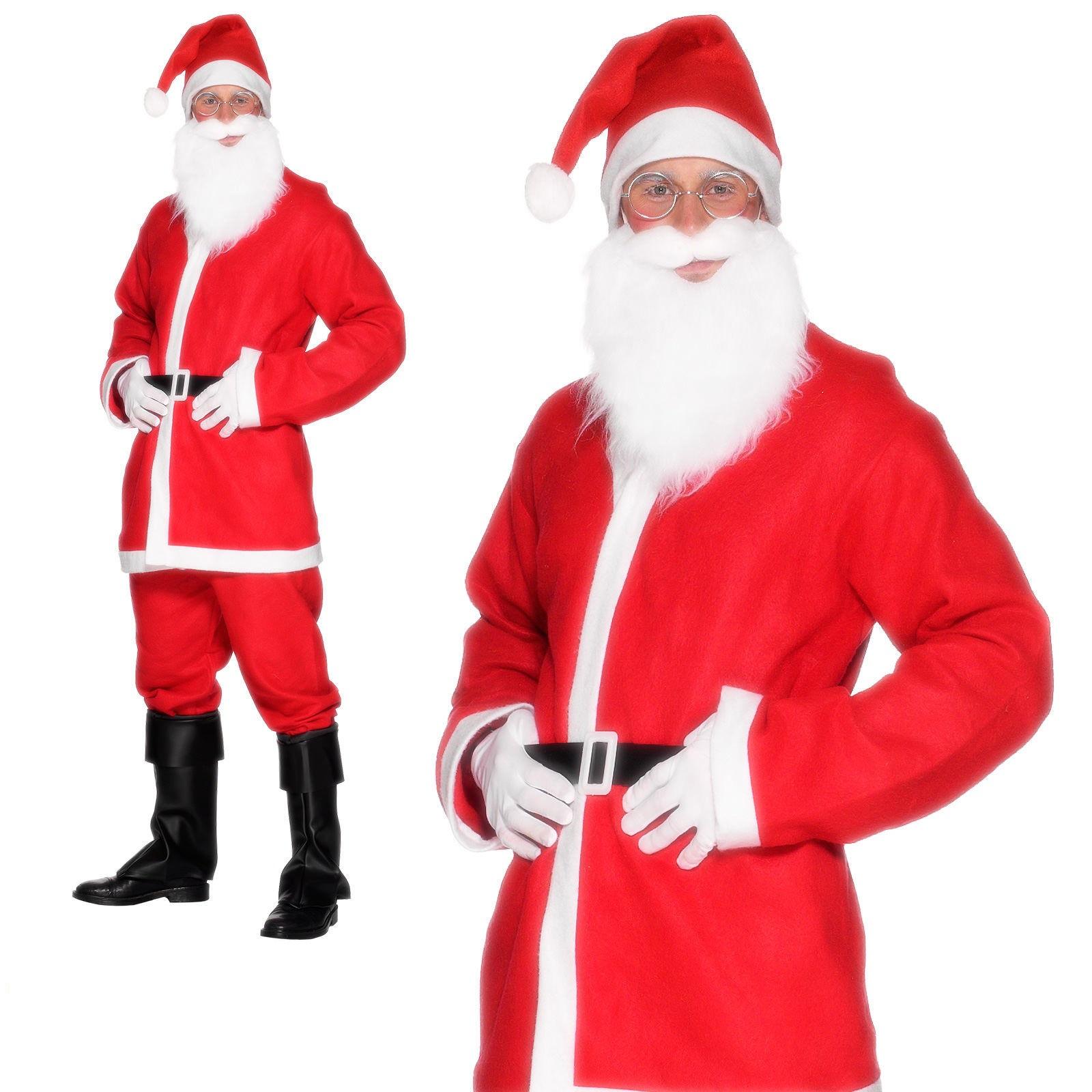 Father Xmas Beard Christmas Fancy Dress All Kinds