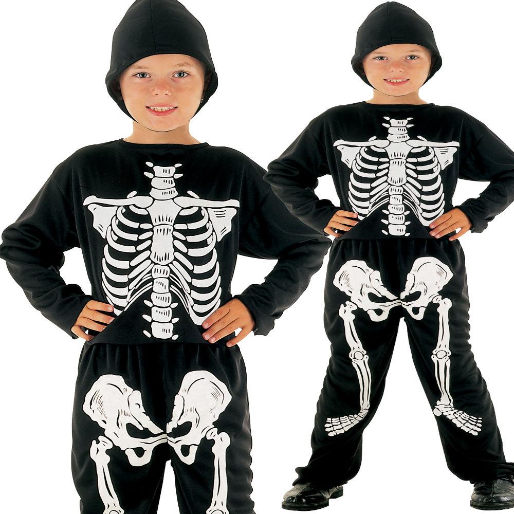 Children/'s Skeleton Child 158cm Costume For Halloween Living Dead Fancy Dress