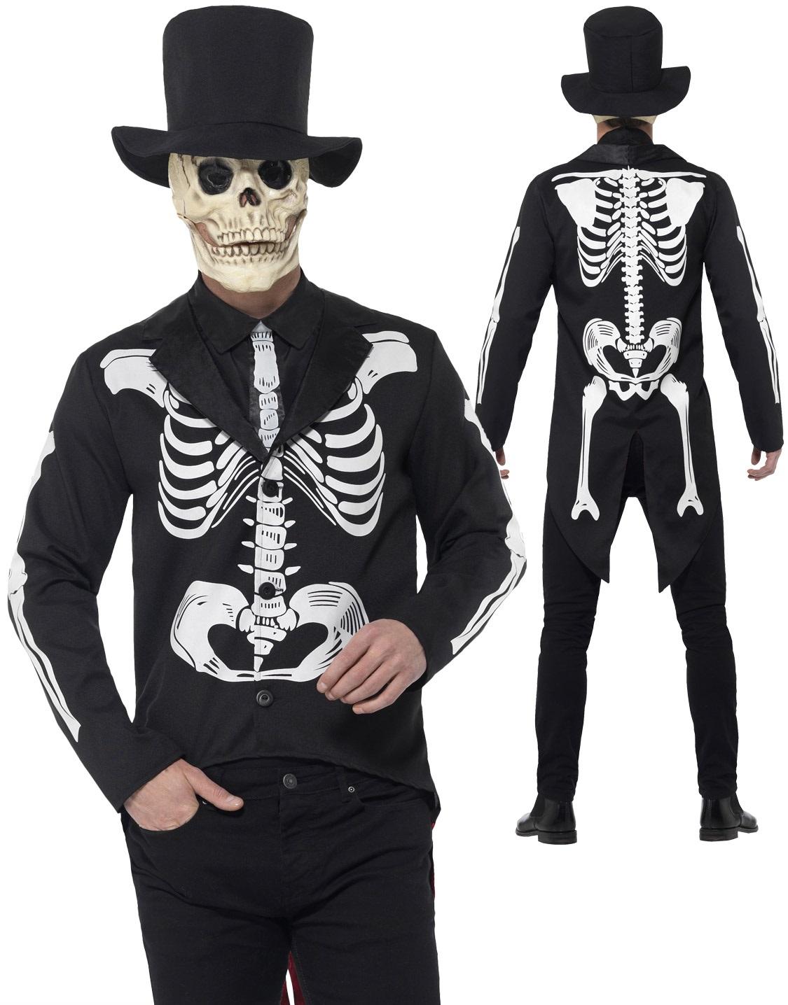 Tie Voodoo Skeleton Jacket Deluxe Day of The Dead
